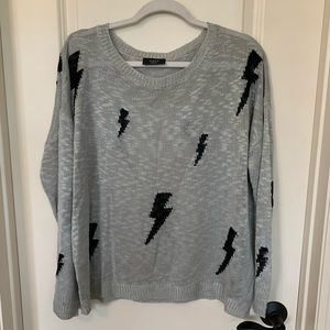 Stormy Nights Knit Sweater